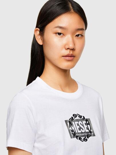 Diesel - T-SILY-R5, Blanco - Camisetas - Image 3