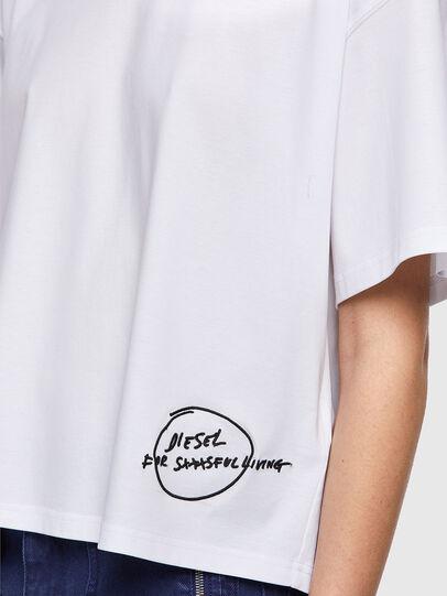 Diesel - T-BOWBOW, Blanco - Camisetas - Image 4