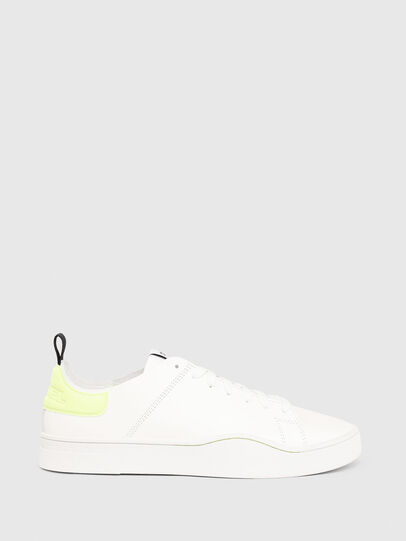 Diesel - S-CLEVER LS, Blanco/Amarillo - Sneakers - Image 1