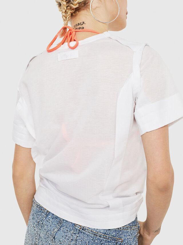 Diesel - T-ROCK-A, Blanco - Camisetas - Image 3