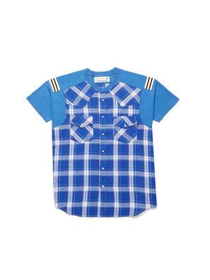D-WESTERNSPORT, Azul Claro - Camisetas