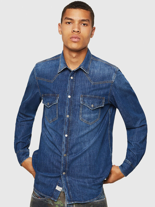 D-EAST-P,  - Camisas de Denim