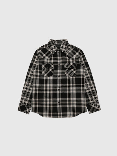 Diesel - CSEASTO, Negro - Camisas - Image 1