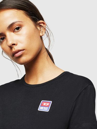 Diesel - UFLT-ISOLLA, Negro - Camisetas - Image 3