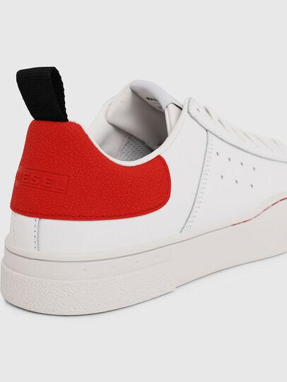 Diesel - S-CLEVER LOW, Blanco/Rojo - Sneakers - Image 4