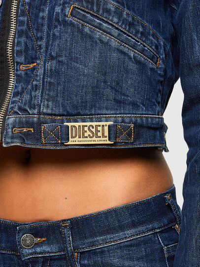 Diesel - DE-BLONDY, Azul Oscuro - Chaquetas de denim - Image 5