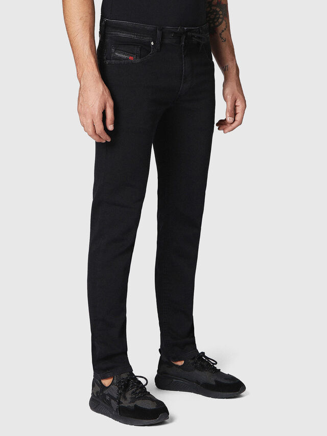 Thommer JoggJeans 0687Z, Negro/Gris oscuro