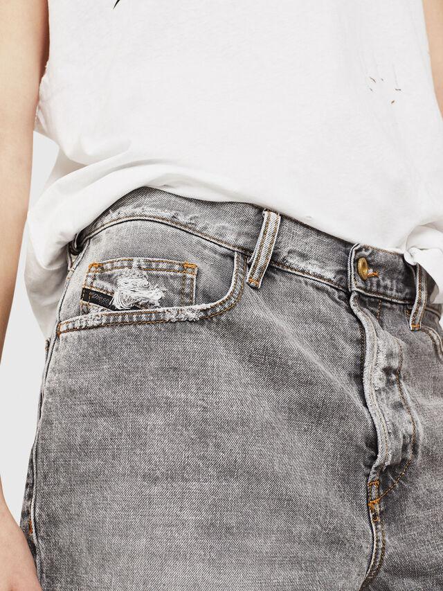 Diesel - D-KORT, Gris Claro - Shorts - Image 4