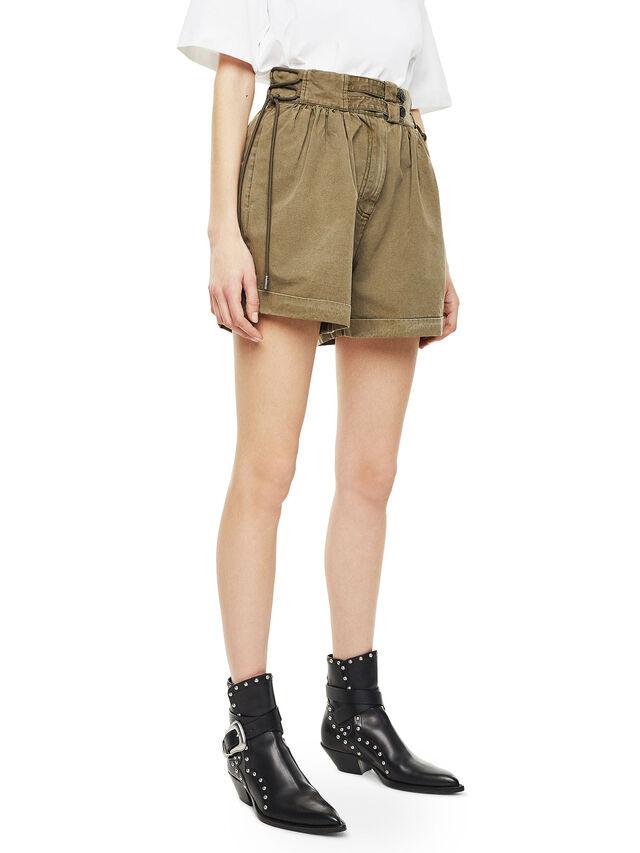 Diesel - SIMONY, Verde Militar - Shorts - Image 5