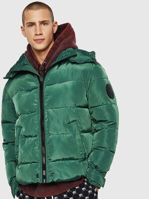 W-SMITH-YA-WH, Verde Oscuro - Chaquetones de invierno
