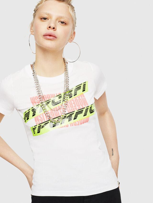 Diesel - T-SUPERY-C, Blanco - Camisetas - Image 1
