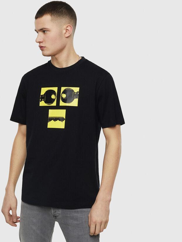 T-JUST-T23, Negro - Camisetas