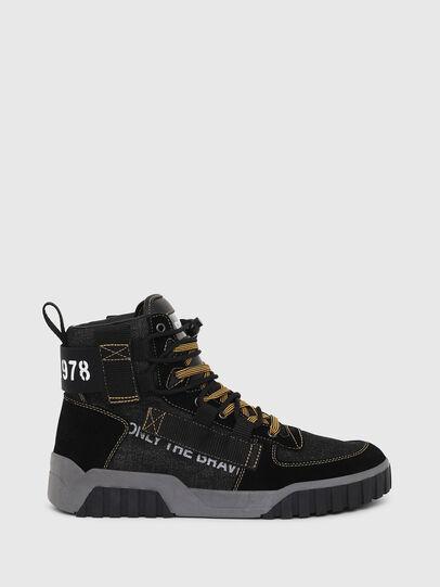 Diesel - S-RUA MID SP, Negro - Sneakers - Image 1