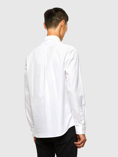 Diesel - S-WEIR, Blanco - Camisas - Image 2