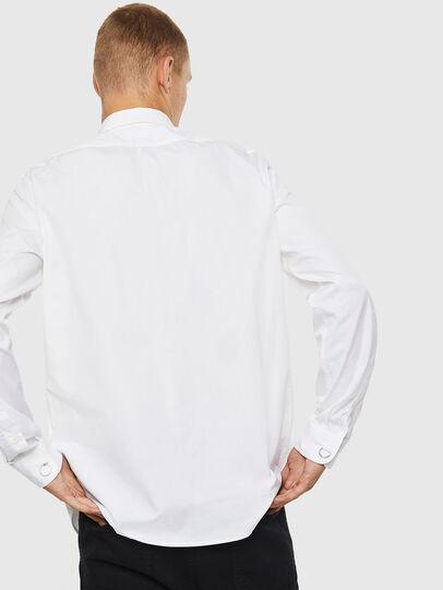 Diesel - S-AUDREY, Blanco - Camisas - Image 2