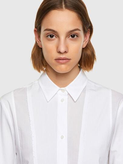 Diesel - C-VOILE, Blanco - Camisas - Image 4