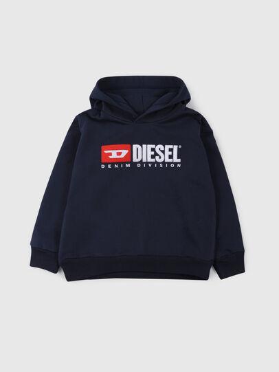 Diesel - SDIVISION OVER, Azul Noche - Sudaderas - Image 1