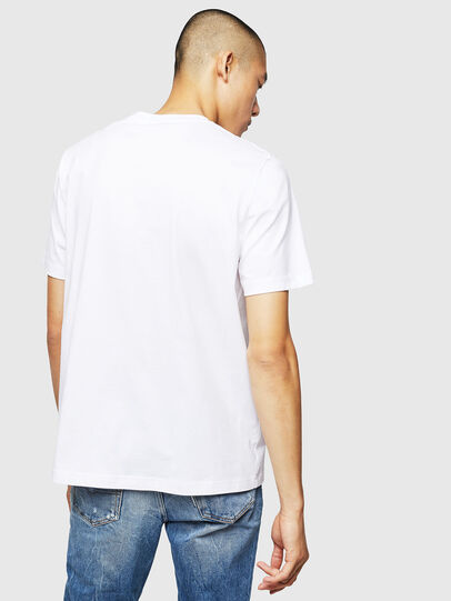 Diesel - T-JUST-B1, Blanco - Camisetas - Image 2