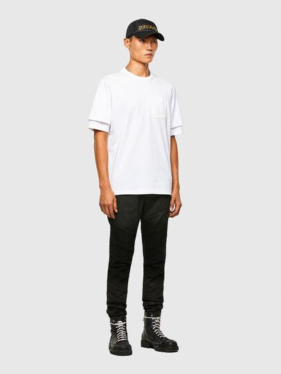Diesel - T-FONTAL, Blanco - Camisetas - Image 5
