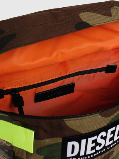 Diesel - PIEVE, Verde Camuflaje - Mochilas - Image 5