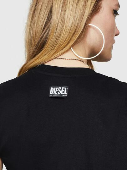 Diesel - D-DASHA, Negro - Vestidos - Image 5