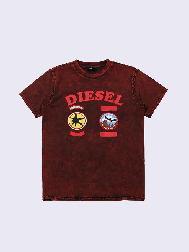 Diesel - TIFFOR, Burdeos - Camisetas y Tops - Image 1