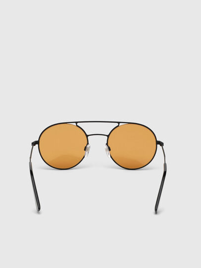 Diesel - DL0301, Naranja/Negro - Gafas de sol - Image 3