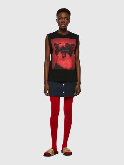 Diesel - T-PUNKYERN, Negro - Camisetas - Image 4