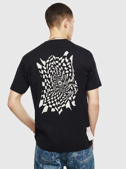 Diesel - T-JUST-T10, Negro - Camisetas - Image 2