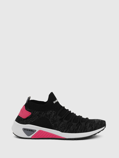 Diesel - S-KB ATHL LACE W, Negro/Rosa - Sneakers - Image 1