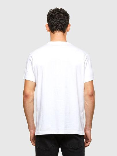 Diesel - T-DIEGOS-A1, Blanco - Camisetas - Image 2