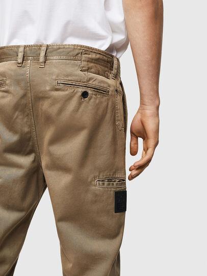 Diesel - P-JARED, Beige - Pantalones - Image 4