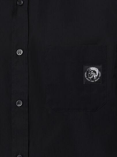Diesel - S-BILL-POCKET, Negro - Camisas - Image 3