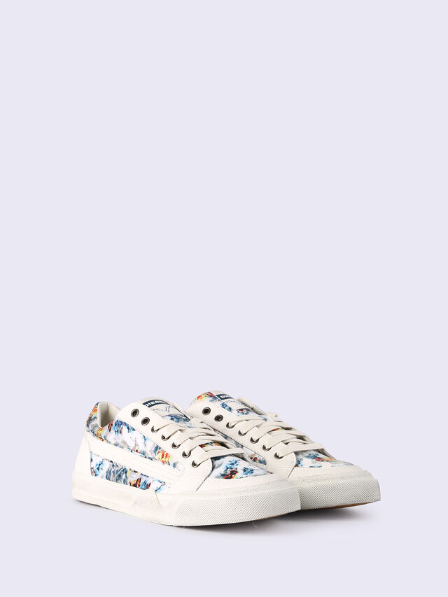S-GRINDD LOW LACE, Blanco