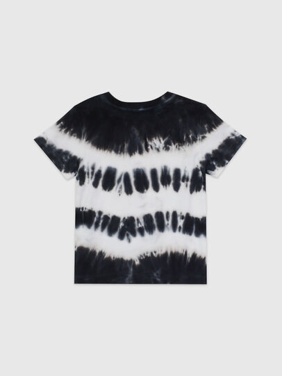 Diesel - TAREZB, Negro/Blanco - Camisetas y Tops - Image 2