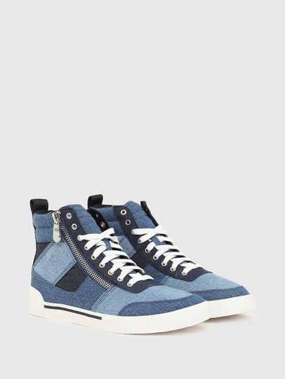 Diesel - S-DVELOWS MID CUT, Azul - Sneakers - Image 2