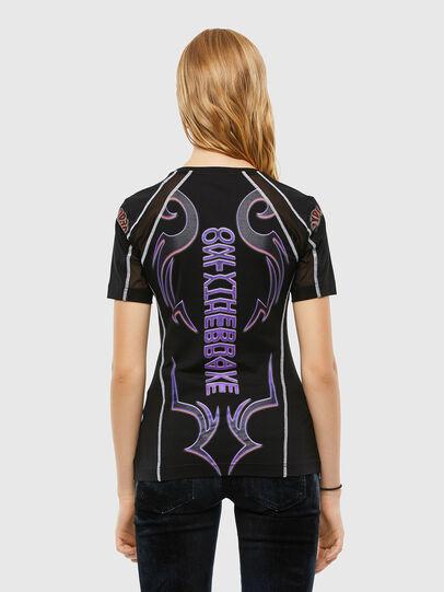 Diesel - T-TAJO, Negro - Camisetas - Image 2