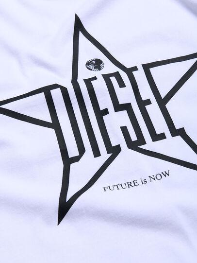 Diesel - TDIEGOYH, Blanco - Camisetas y Tops - Image 3