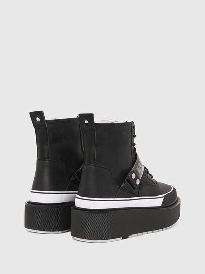 Diesel - H-SCIROCCO STRAP, Negro - Sneakers - Image 3