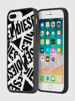 MULTI TAPE BLACK/WHITE IPHONE 8 PLUS/7 PLUS/6S PLUS/6 PLUS CASE, Negro - Fundas