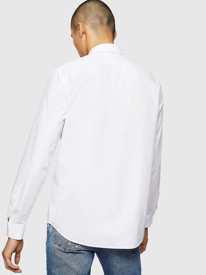 Diesel - S-MOI-R-BW, Blanco - Camisas - Image 2
