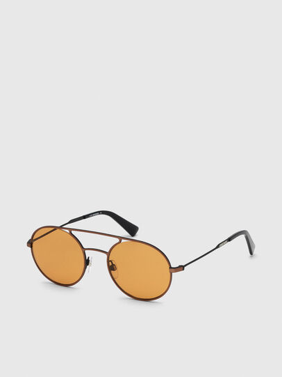 Diesel - DL0301, Naranja/Negro - Gafas de sol - Image 2