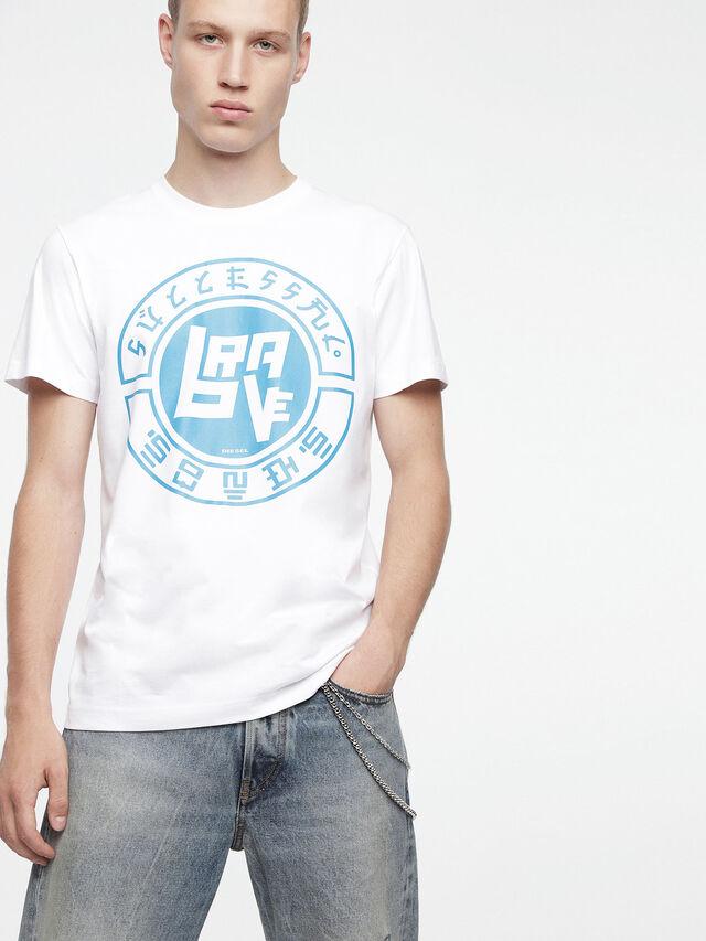 Diesel - T-DIEGO-XC, Blanco - Camisetas - Image 1