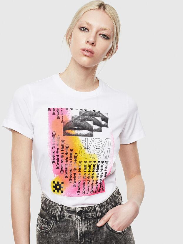 T-SILY-S5, Blanco - Camisetas