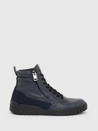 Diesel - S-RUA MID, Azul - Sneakers - Image 1