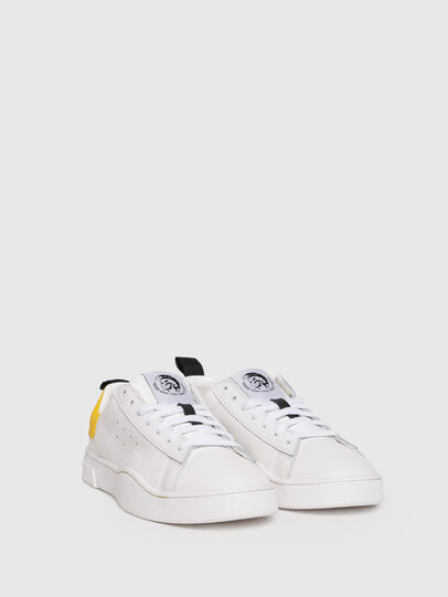 Diesel - S-CLEVER LOW W, Blanco/Amarillo - Sneakers - Image 2