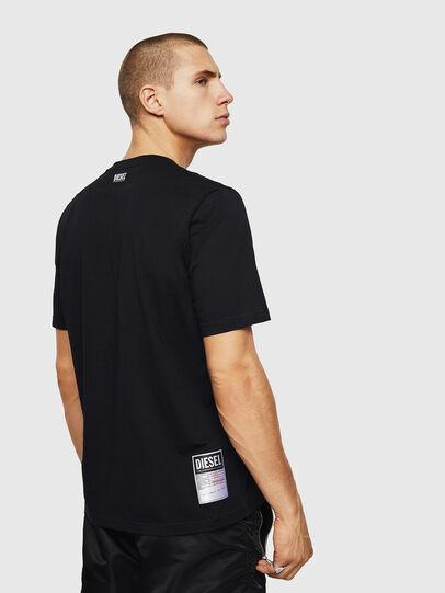 Diesel - T-JUST-B28, Negro - Camisetas - Image 2