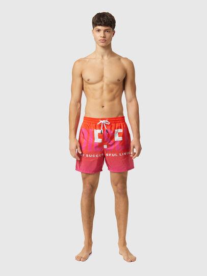Diesel - BMBX-WAVE-X, Naranja - Bañadores boxers - Image 1