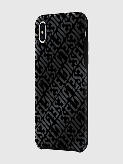 Diesel - DIESEL PRINTED CO-MOLD CASE FOR IPHONE XS MAX, Negro - Fundas - Image 5