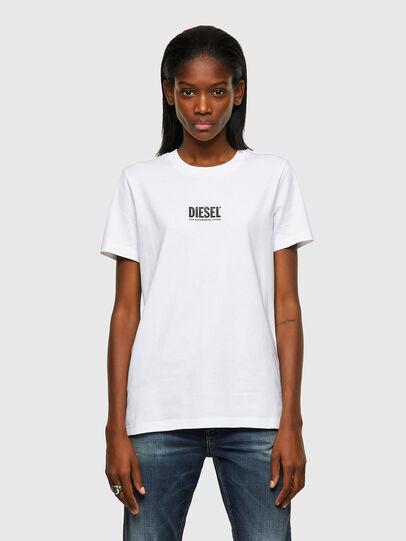 Diesel - T-SILY-ECOSMALLOGO, Blanco - Camisetas - Image 1
